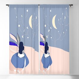 The moon Catcher Blackout Curtain