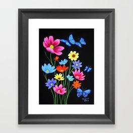 Wildflowers-3 Framed Art Print