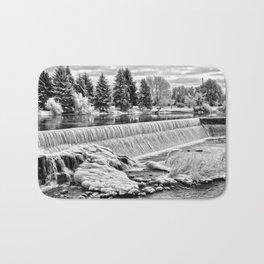 Idaho Falls - Winter Day Bath Mat