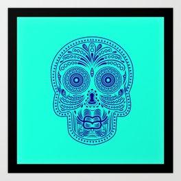 Duckface Skull Art Print