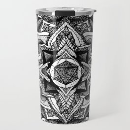 Mandala Circles Travel Mug
