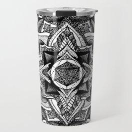 Mandala Circles Travel Mug