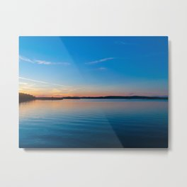 Swedish lake | Marstrand Sweden travel photography | Sunset Art Print Metal Print