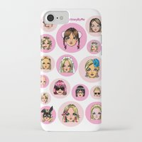 britney spears iPhone & iPod Cases featuring CartooNEY - Britney Spears Cartoons by Eduardo Sanches Morelli