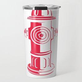 I'd Tap That Firefighter Travel Mug