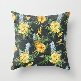 Pineapple Pattern 03 Throw Pillow