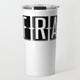 FRA - Frankfurt Airport - Germany Airport Code Gift or Souvenir  Travel Mug