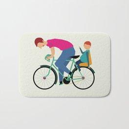 Balade à vélo Bath Mat