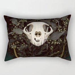 Skull and Bone Rectangular Pillow