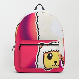 Glowing Neon Alpaca Backpack