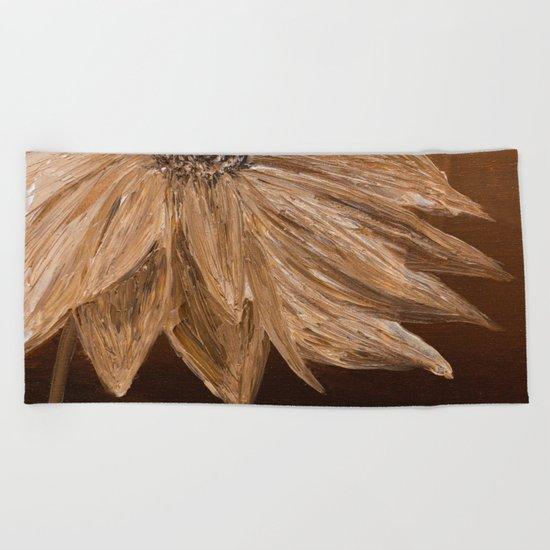 Sepia Beach Towel