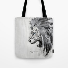 Lion - The king of the jungle Tote Bag