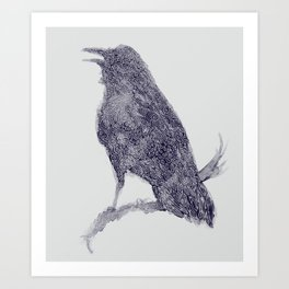 Nature's Cry Art Print