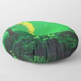 Nigh calm Floor Pillow
