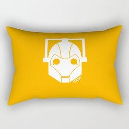 Geek Shirt #1 Cyberman (White) Rectangular Pillow