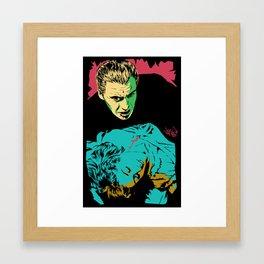 The Terrifying Lover Framed Art Print