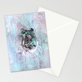 Illusive By Nature (Blue) Stationery Cards