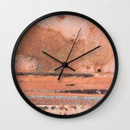 Rustic Vibes Wall Clock