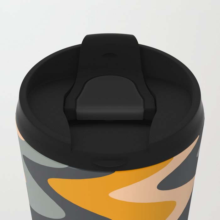 ABSTRACT 10 Metal Travel Mug
