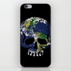 Skull Earth iPhone & iPod Skin