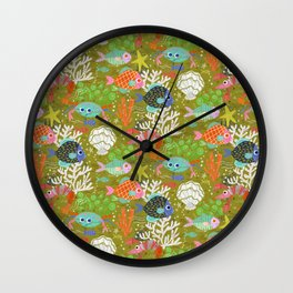 Underwater Adventure Wall Clock
