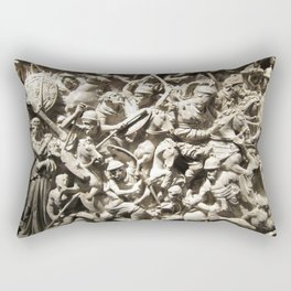 Roman Battle Rectangular Pillow