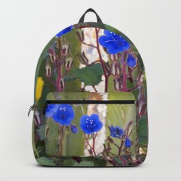 Desert Bluebells Backpack