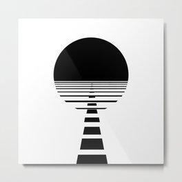 BLACK DAWN Metal Print