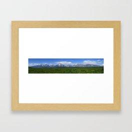 Teton Meadow Framed Art Print