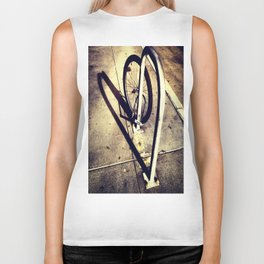 Bicycle Street Heart Biker Tank