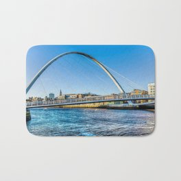 Gateshead Millenium Bridge Bath Mat
