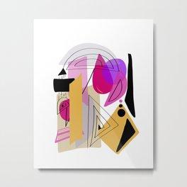 Modern minimal forms 23 Metal Print