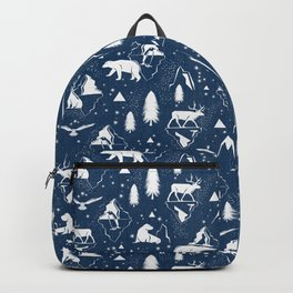 Arctic Circle - Blue Backpack