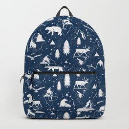 Arctic Circle - Blue Backpack