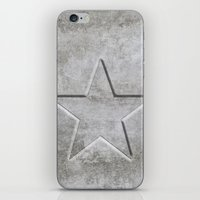 solid iPhone & iPod Skins featuring Solid Star by LebensART