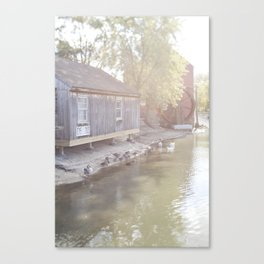Small Town America - Jersey Style Canvas Print