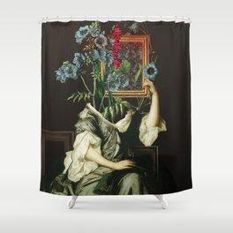 Florales Portrait Disaster Shower Curtain