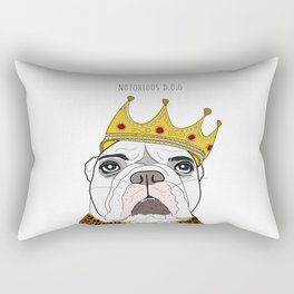 Celebrity Dogs-Notorious D.O.G. Rectangular Pillow