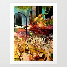 Revival Los Angeles  Art Print