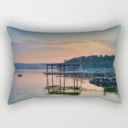 magic on the water Rectangular Pillow