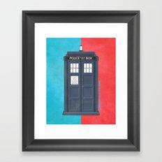10th Doctor - DOCTOR WHO Framed Art Print