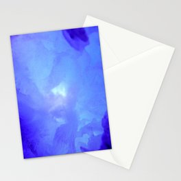 Textures (Blue version) Stationery Cards