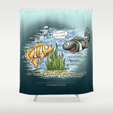 When Clownfishes meet Shower Curtain