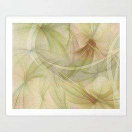 Soft Colors of Nature  Art Print