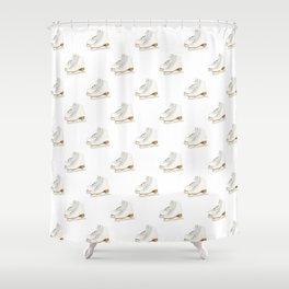 Ice Skates Shower Curtain
