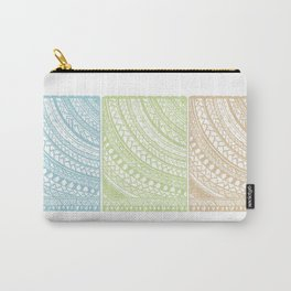 Weaved Elements I Carry-All Pouch