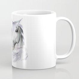 White Horses of the Camargue Coffee Mug