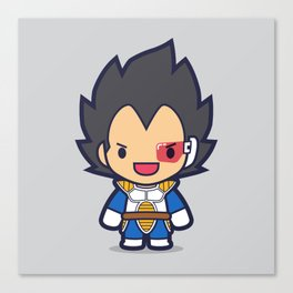 FunSized Vegeta Canvas Print