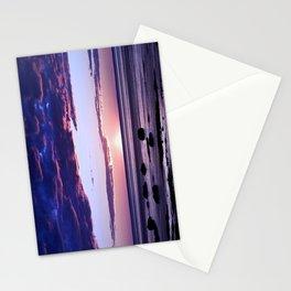 Coastal Sunset Sainte-Anne-Des-Monts Stationery Cards