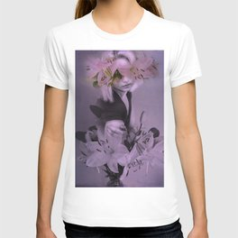 The girl who wanted to be a flower T-shirt